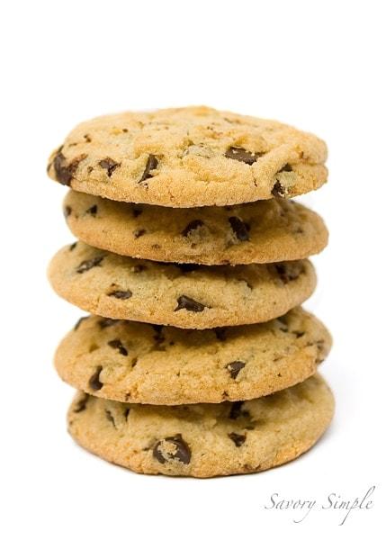 Chocolate Chip Cookies ~ Savory Simple