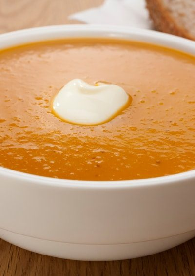 Curried Pumpkin Apple Soup