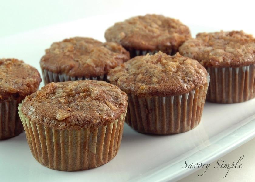 Whole Wheat Apple Orange Muffins ~ Savory Simple