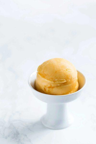 Passion fruit sorbet recipe photo