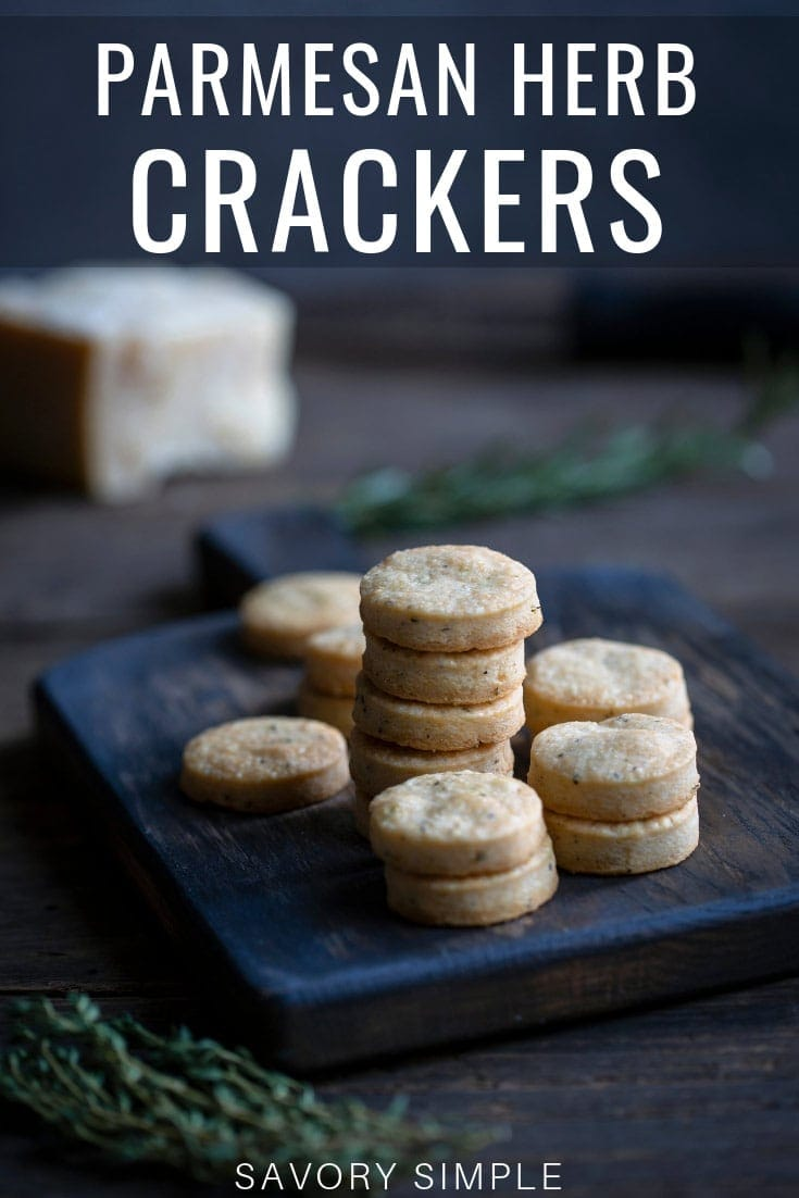 Shortbread Crackers photo with text overlay
