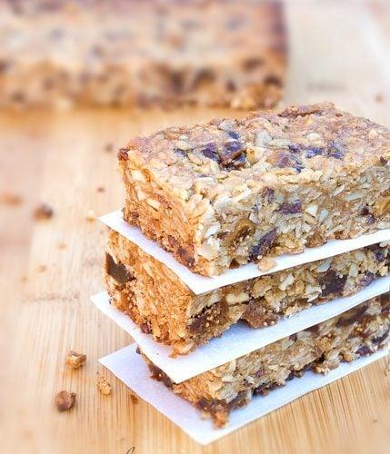 Gluten-Free Vegan Granola Bars