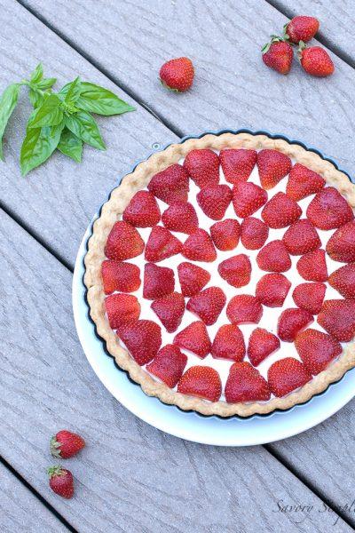Strawberry Tart ~ Savory Simple