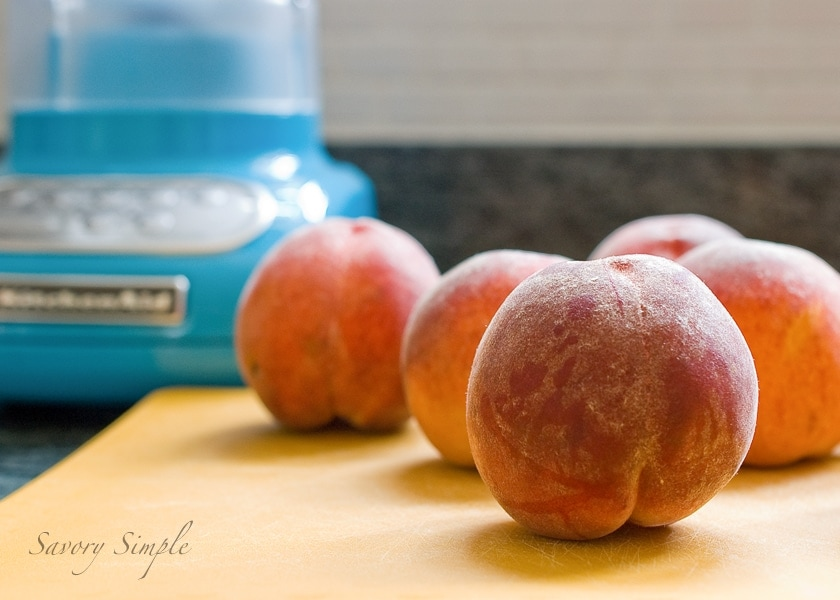 Peach Gazpacho & a KitchenAid Review