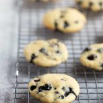 Blueberry Buttermilk Cookies - soft, light and cake-like