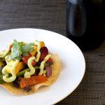 grilled-veggie-tostada