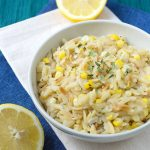 toasted-orzo-corn-risotto