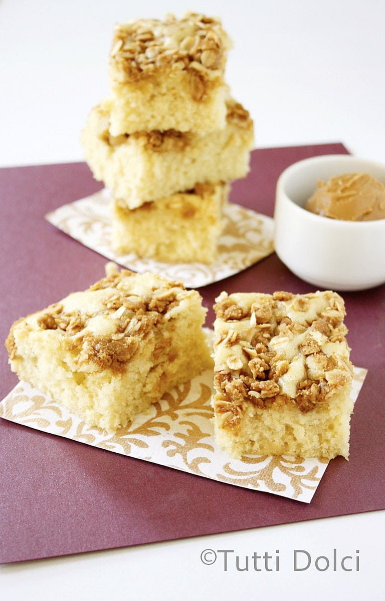 Cookie Butter Streusel Cake