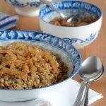 Lentil-and-Bulgur-Pilaf-with-Caramelized-Onion