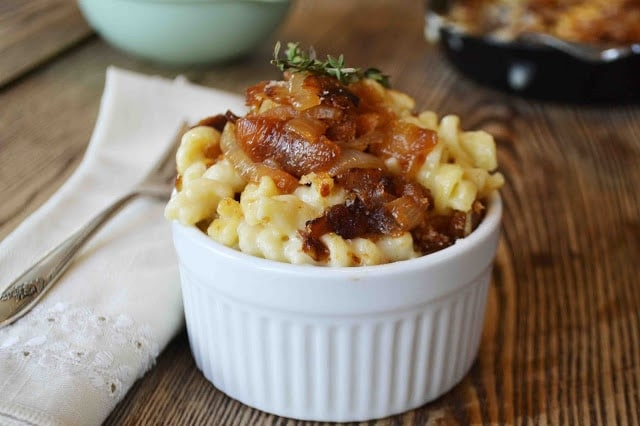French Onion Soup Mac and Cheese