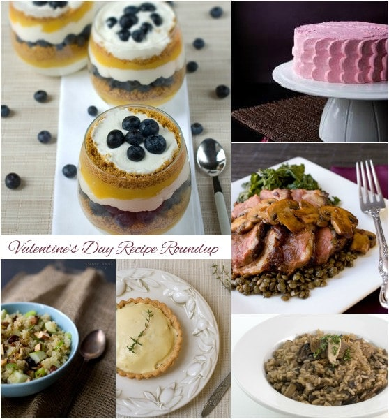 Valentine's Day Recipe Roundup - @SavorySimple