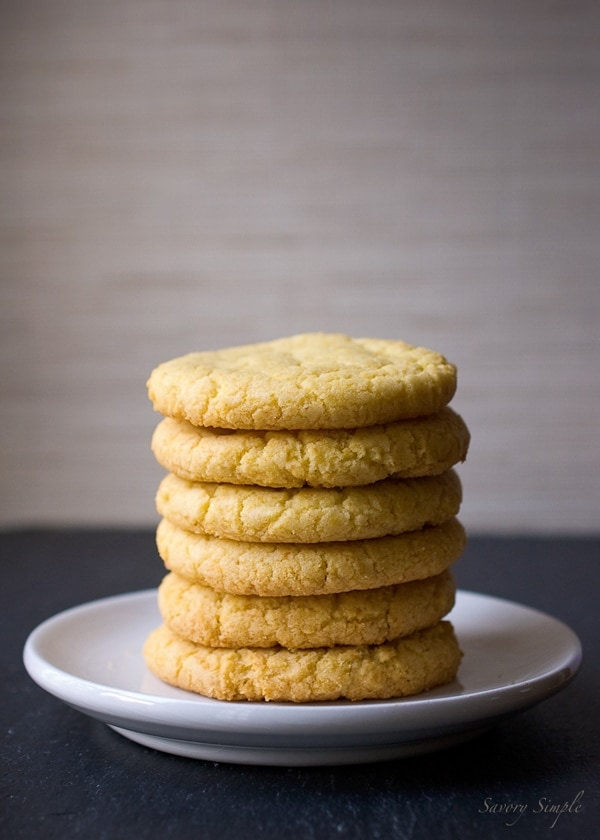 Momofuku Milk Bar Corn Cookies - @SavorySimple