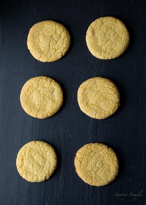 Momofuku Milk Bar Corn Cookies - @SavorySimple