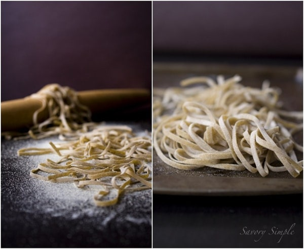 Whole Wheat Linguini ~ @Savory Simple #recipe