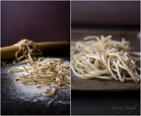 Whole Wheat Linguini ~ @Savory Simple #recipe