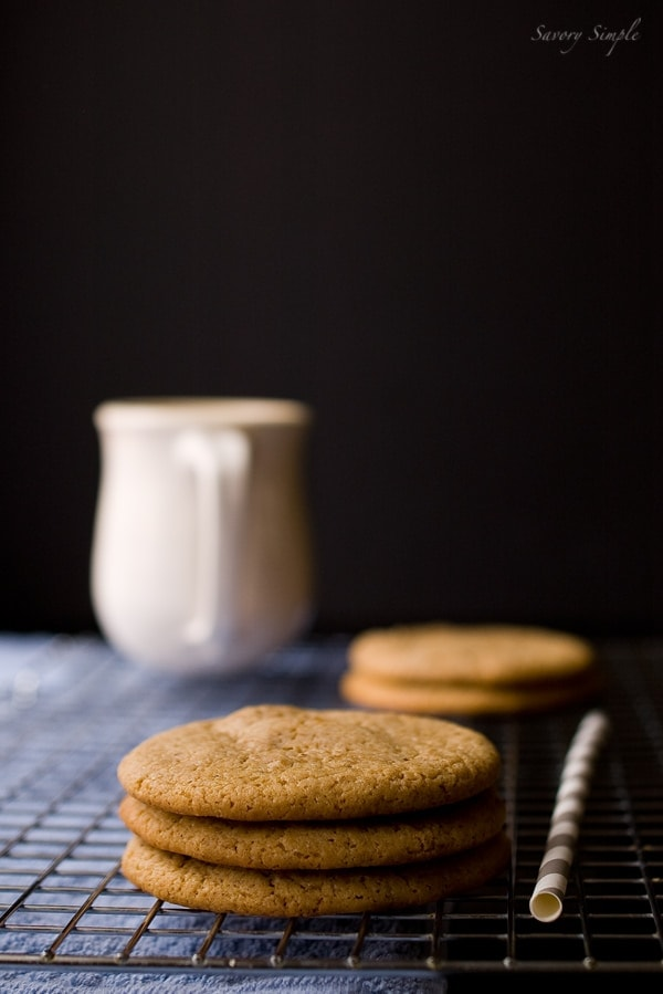 Caramel Cappuccino Cookies - Savory Simple