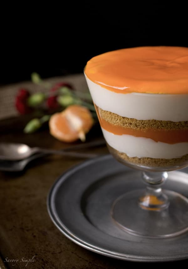 Clementine Curd Cheesecake Parfait - Savory Simple