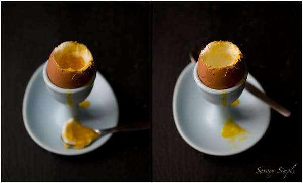Perfect Soft-Boiled Eggs ~ Savory Simple ~ www.savorysimple.net