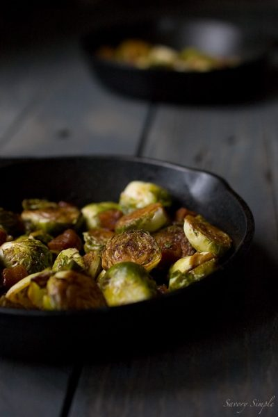 These brown sugar bacon brussels sprouts will make anyone a believer in this amazing vegetable!