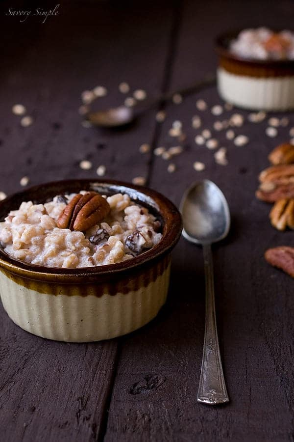 Farro Pudding - Savory Simple ~ www.savorysimple.net