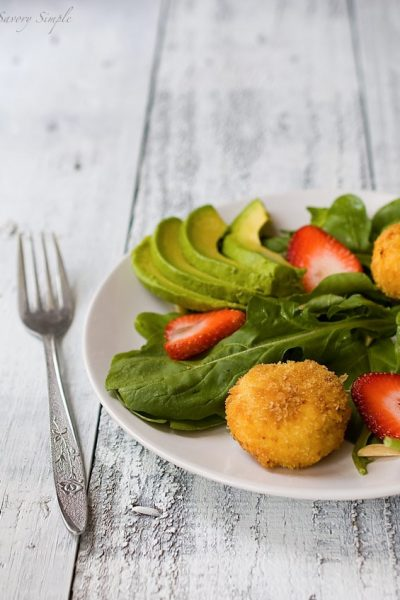 fried-goat-cheese-salad