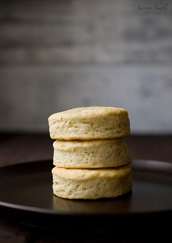 ... goat cheese and chive biscuits for you. What should I make next? The