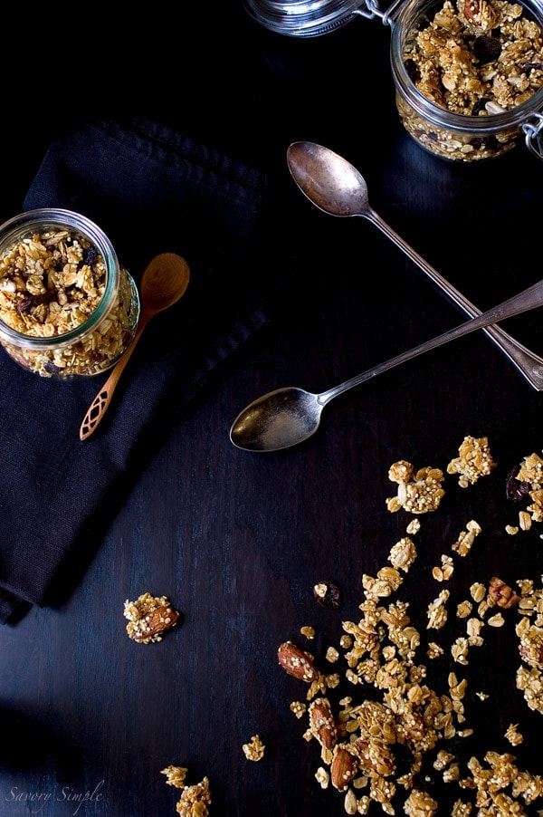 Quinoa Granola - Savory Simple