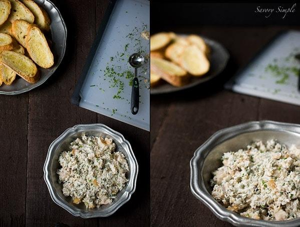 Smoked Trout Dip ~ Savory Simple ~ www.savorysimple.net