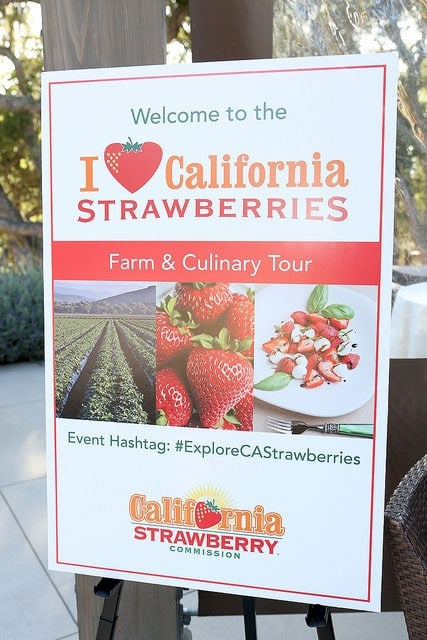 California Strawberries Farm and Culinary Tour ~ Savory Simple