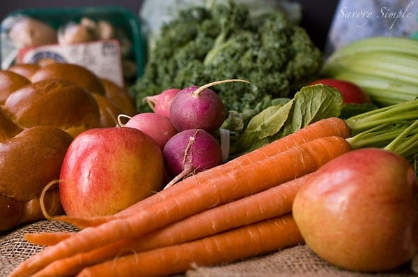 From The Farmer ~ Washington DC Local Produce CSA Delivery ~ Savory Simple