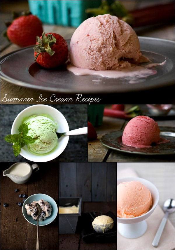 Ice Cream Recipe Roundup - Savory Simple