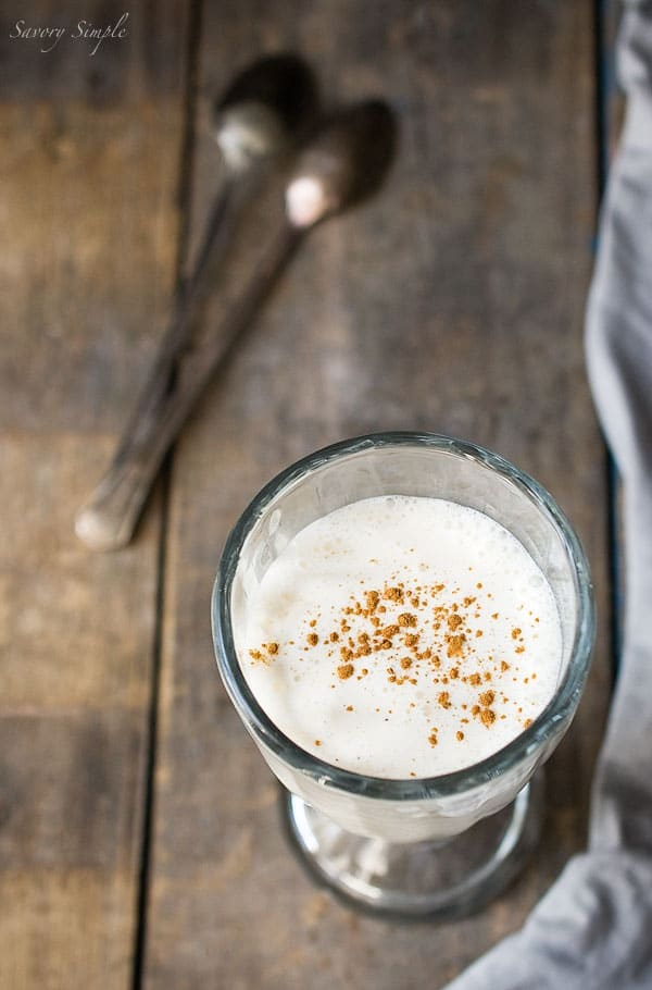 Vanilla Rumchata Milkshake Recipe ~ Savory Simple