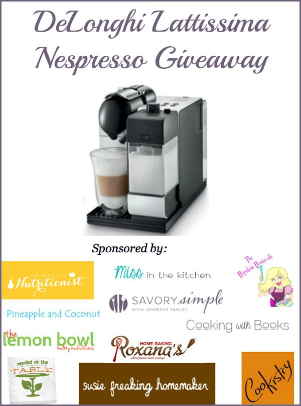 Nespresso Giveaway- Savory Simple