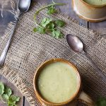 Tomatillo Avocado Soup