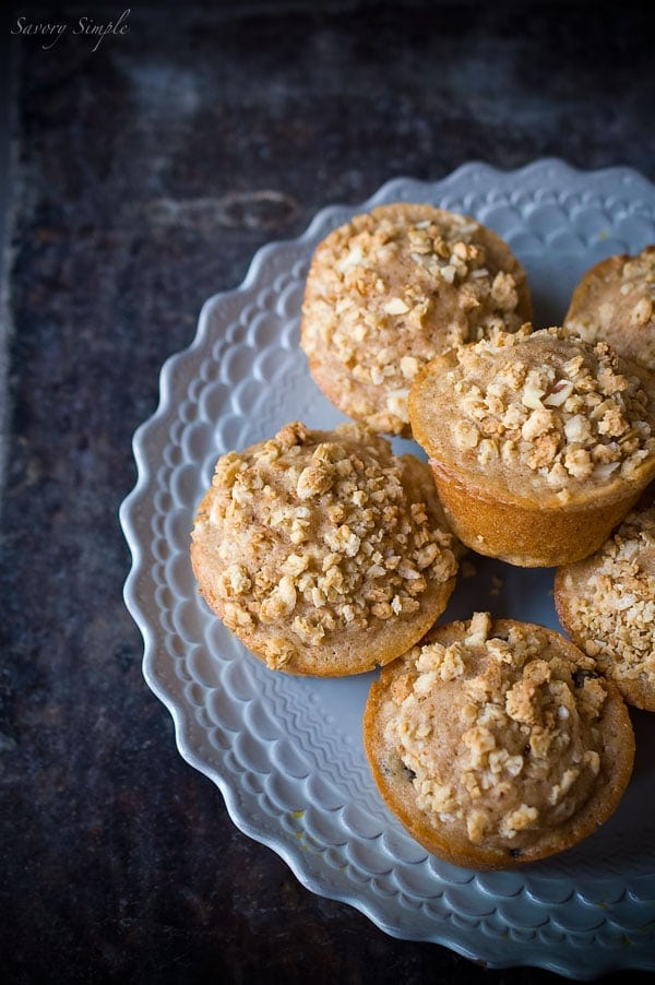 Berry Granola Streusel Muffins - Savory Simple