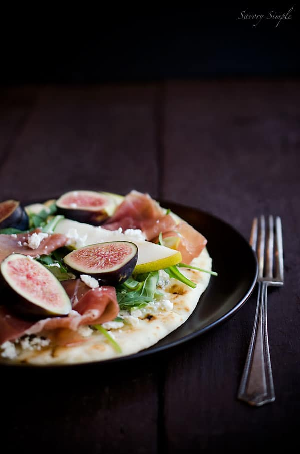Fig, Pear and Prosciutto Tartine - Savory Simple