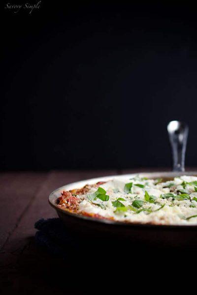 Mushroom-Skillet-Lasagna