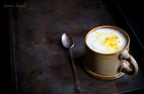 Turmeric Chai Latte - Savory Simple