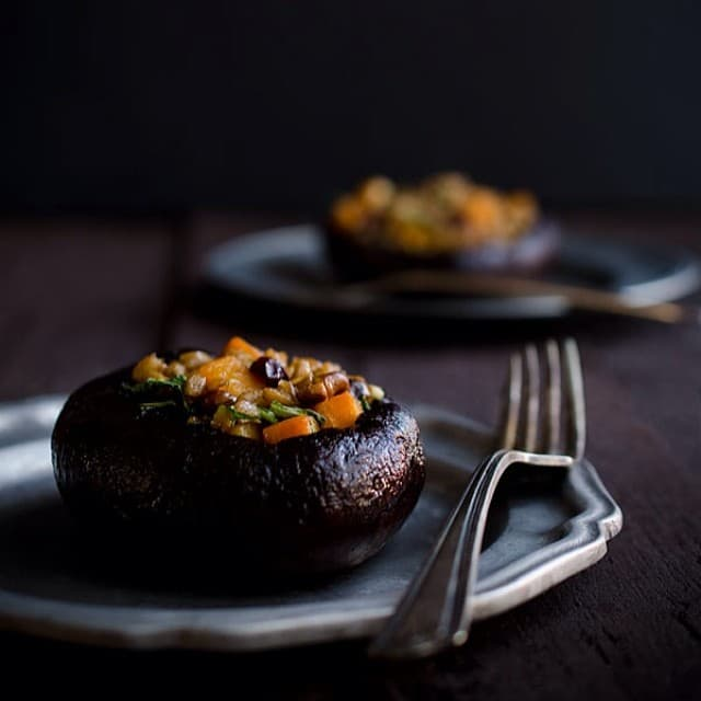 ... garlic and balsamic vinegar recipe roasted portobello mushroom packets