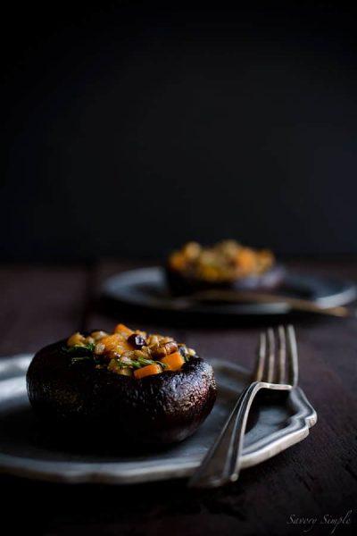 Stuffed-Portobello-Mushrooms