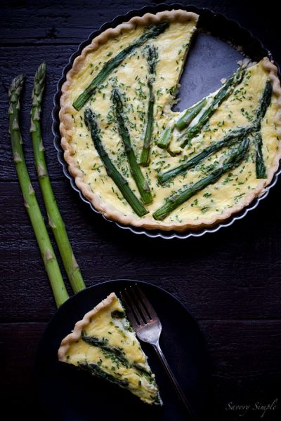 Asparagus-Goat-Cheese-Chive-Quiche