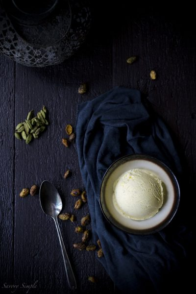 Cardamom-Ice-Cream-with-Candied-Pistachios