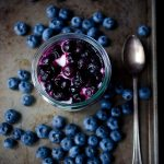 Goat-Cheese-Mousse-with-Roasted-Blueberries