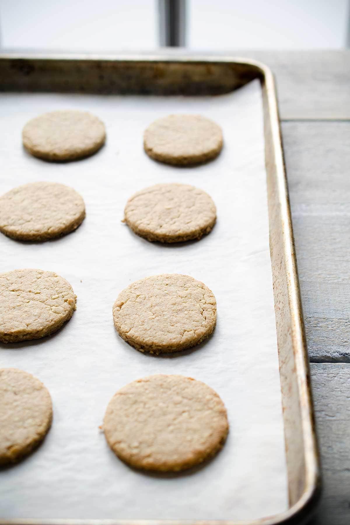Homemade tea biscuits