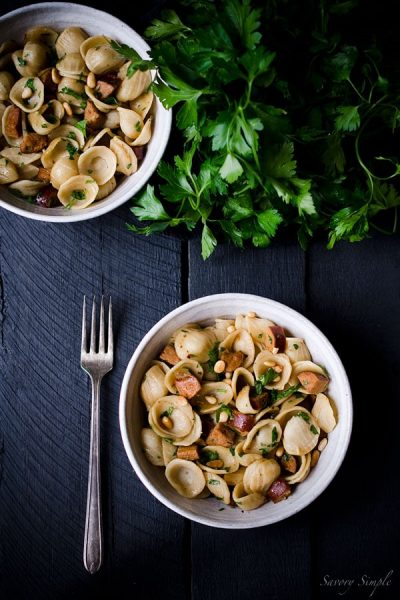 Whole-Wheat-Orecchiette-with-Sausage