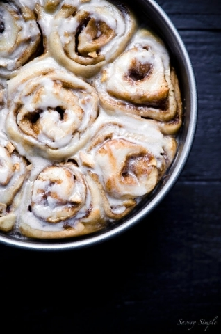 Apple Cider Cinnamon Buns