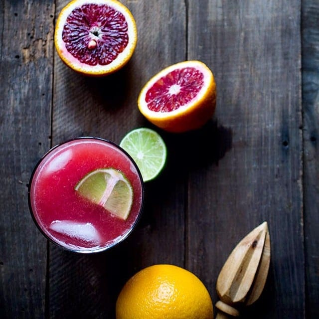 The post {NEW} This Blood Orange Gin and Tonic is a vibrant, sweet and ...