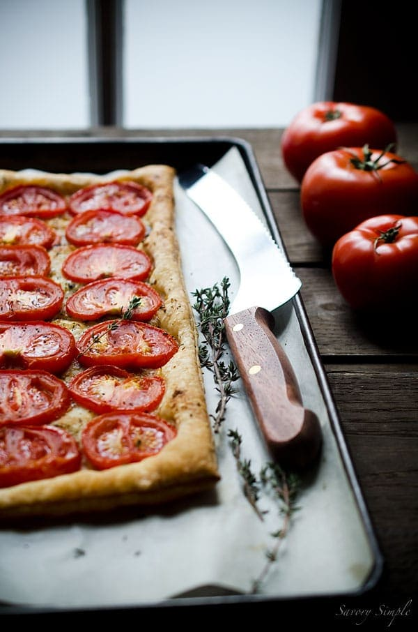 Roasted Tomato Tart - Savory Simple