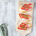 Strawberry-Citrus-Herb-Crostini
