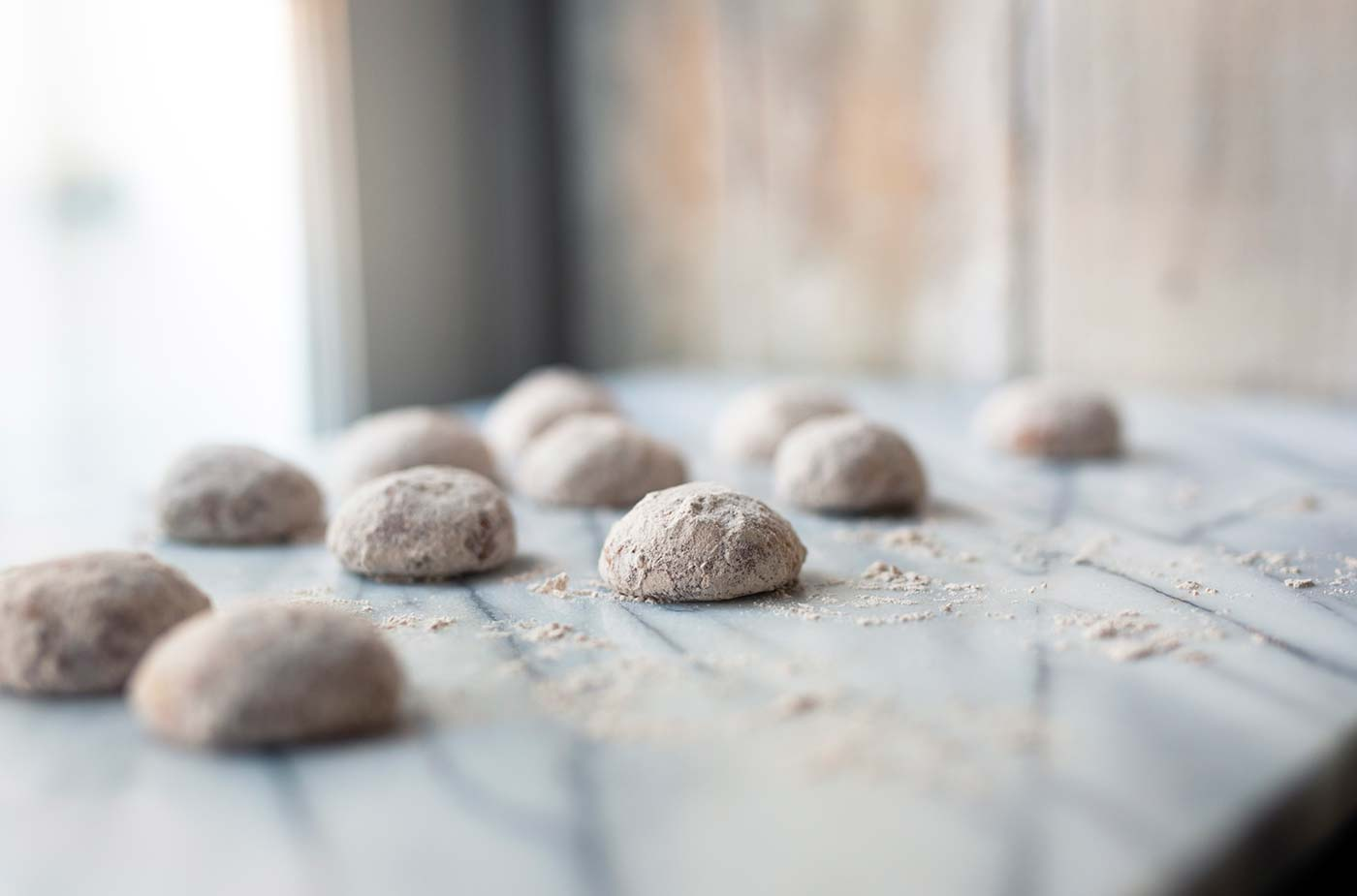 These cinnamon cashew snowdrop cookies are perfect for the holidays! Serve them at parties or offer them as gifts. Get the recipe from SavorySimple.net